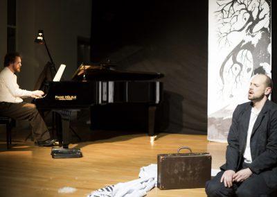 Winterreise staged with Johannes Held / Foto: Tarek Musleh